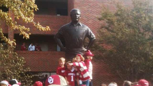 Barry Switzer Honored At Statue Dedication In Norman