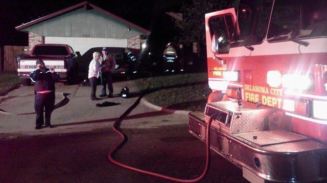 Elderly Woman Burned In Southeast OKC House Fire