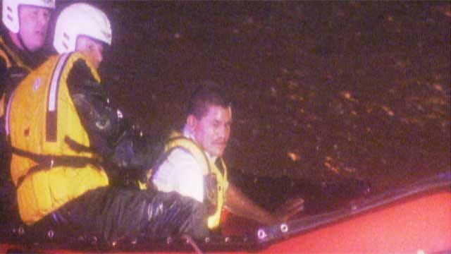 Drivers Rescued From Flooded Oklahoma City Street