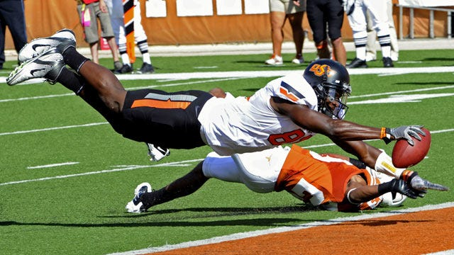 Oklahoma State Outlasts Texas On The Road