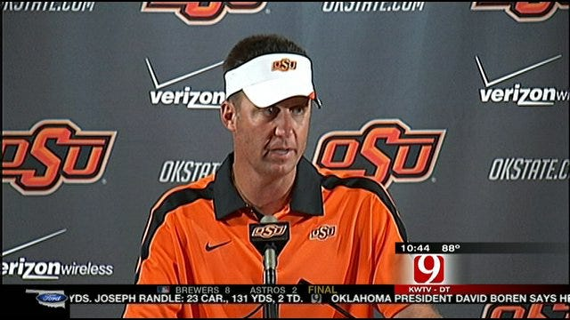 Gundy And The Cowboys Preview Missouri