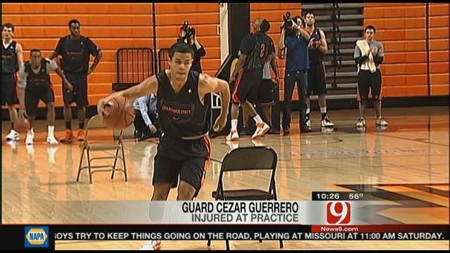 OSU Freshman Cezar Guerrero Flown To Hospital After Injury