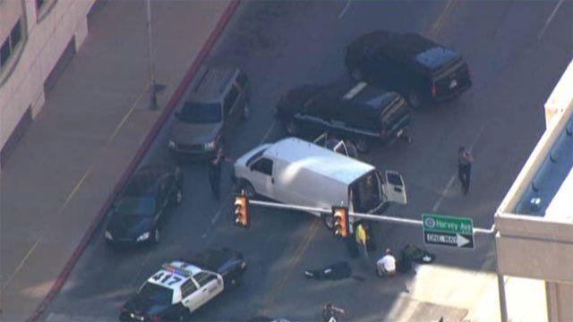 Bomb Squad Clears Suspicious Package In Downtown OKC