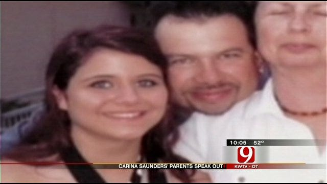 Carina Saunders' Parents Talk To News 9 About Daughter's Death