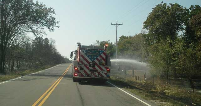 Statewide Effort In Putting Out Oklahoma City Wildfires