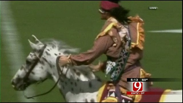 Florida State Mascot Upsets Native Americans In Oklahoma