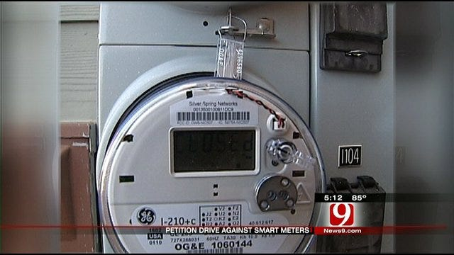 Edmond Residents Start Petition Against Smart Meter System