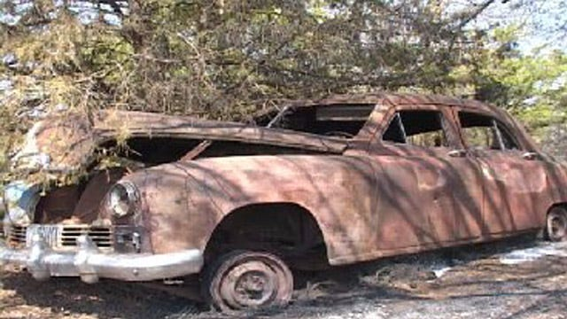 Noble Fire Destroys Classic Car Memorabilia