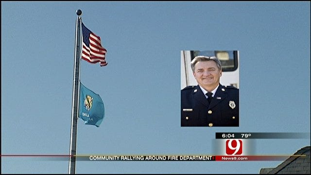 Murdered Fire Chief May Give Life Even In Death