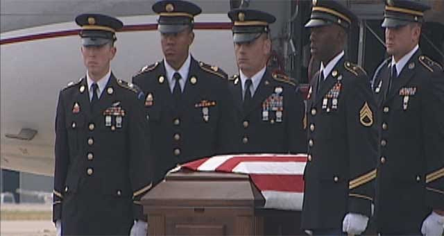 Body Of Fallen Minco Guardsman Returns To Oklahoma