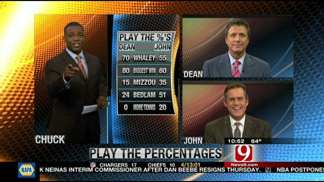 Play the Percentages: Sept. 25, 2011