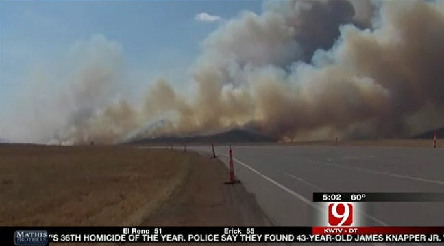 Firefighters Have Comanche County Wildfires Under Control