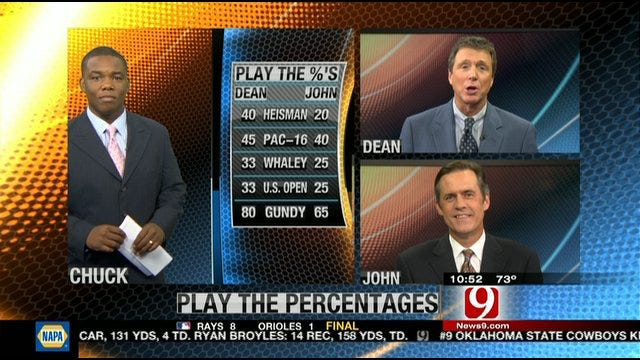 Play the Percentages: Sept. 4, 2011