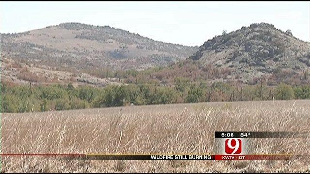 Wildlife Refuge Fire Burns Thousands Of Acres