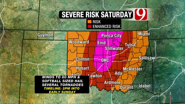 News 9 Weather Team: Get Ready For Tornadoes, Hail, Damaging Winds