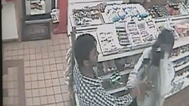 OKC Robbery Suspect Caught On Camera Using Stolen Credit Card
