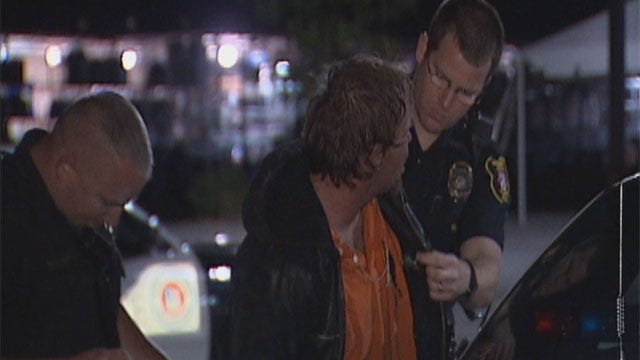 Police: Suspect Caught Trying To Push Motorcycle Out Of Harley Davidson Store In Moore