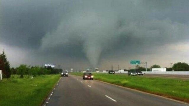 Tornadoes Rip Through Dallas Area