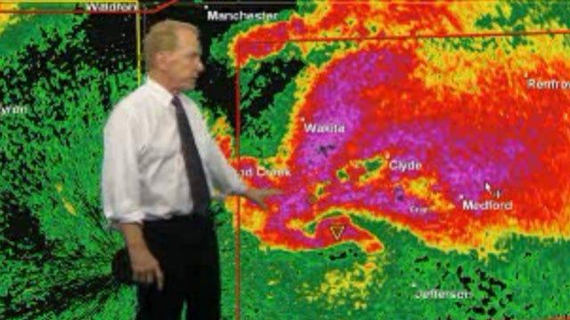 Tornado Warning, Watch Issued In Western, Northern Oklahoma
