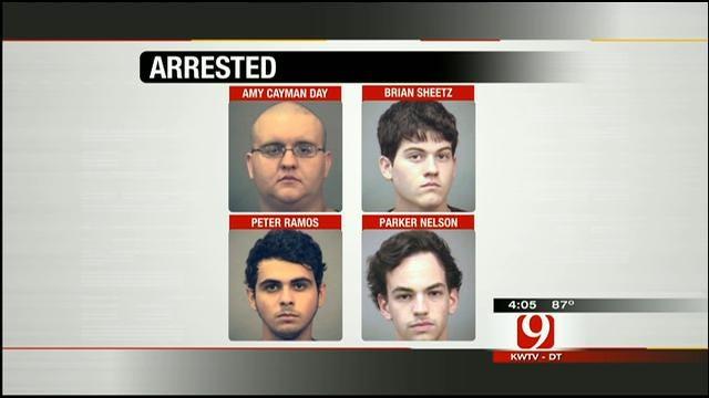 Police Arrest 9 People At Lake Arcadia For Drug Possession