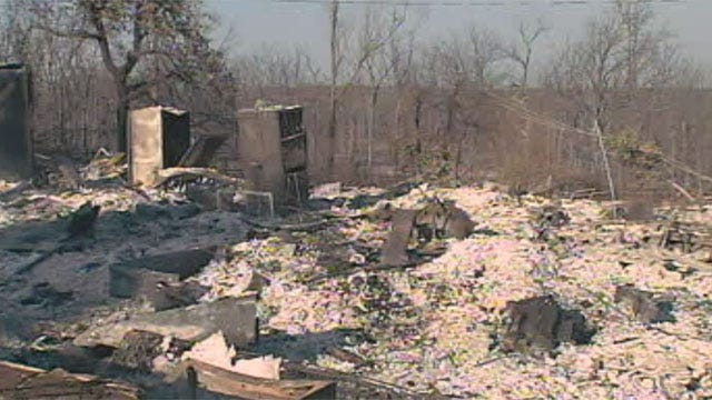 Luther Looks To Rebuild After Devastating Weekend Of Wildfires