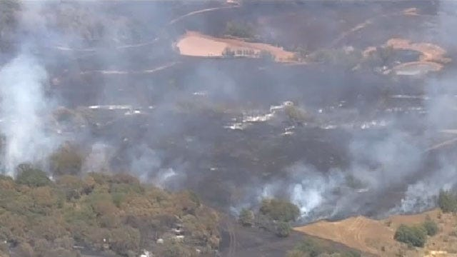 Crews Contain Large Wildfire In Lincoln County