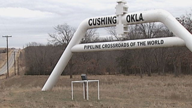 Keystone Pipeline Project Has Positive Impact On Cushing Economy