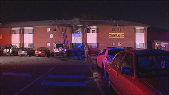 Fire Damages Apartment In SW OKC