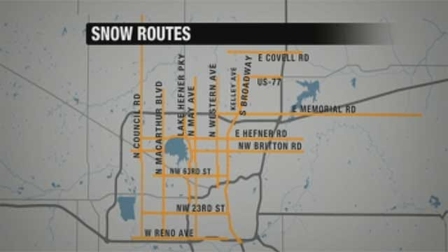Snow Routes Safest Way To Travel In Metro