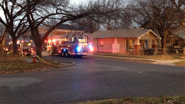 Two Families Escape Burning Duplex In NW OKC