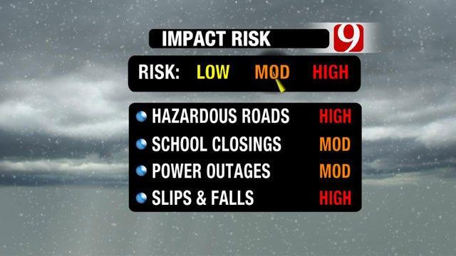 Oklahoma Counties Under Winter Weather Advisory