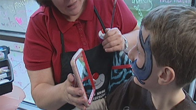 Special Valentine's Day Party Held For OKC Children With Heart Disease