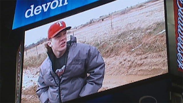 Davis Teens Who Saved Couple's Lives Honored During Thunder Game