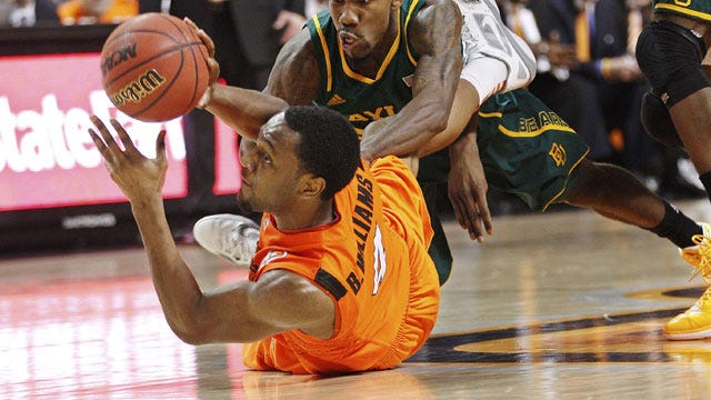 Shorthanded Cowboys Fall To Baylor Bears