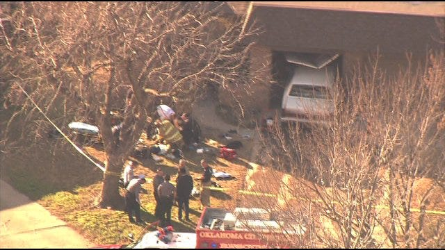 One Found Dead In Shooting After Car Crashes Into Home