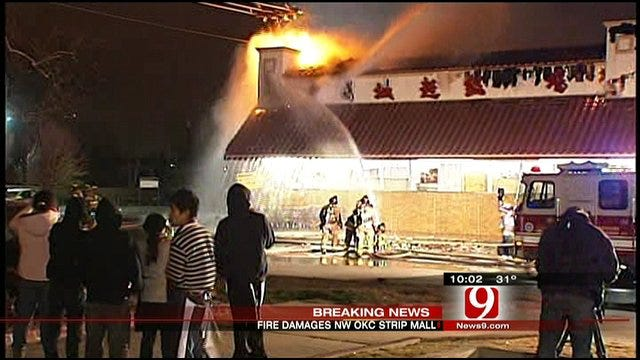Asian District Fire Damages OKC Grocery Store
