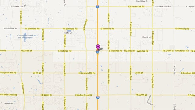 I-35 Back Open After Fatal Crash In Logan County
