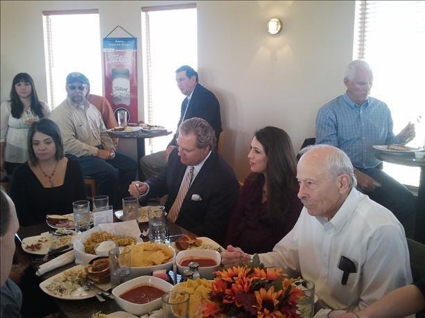 Road Trip El Reno: Kelly And Amanda Attend Leadership Luncheon