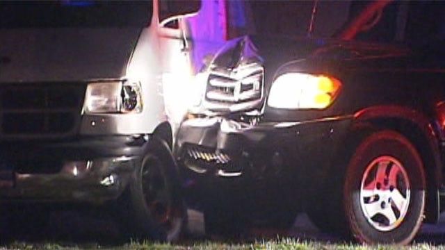 Oklahoma City, Village Police Capture Carjack Suspect