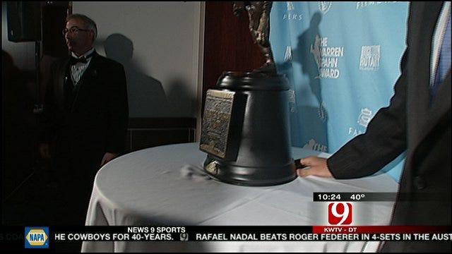 Clayton Kershaw and John Anderson Honored at Spahn Awards