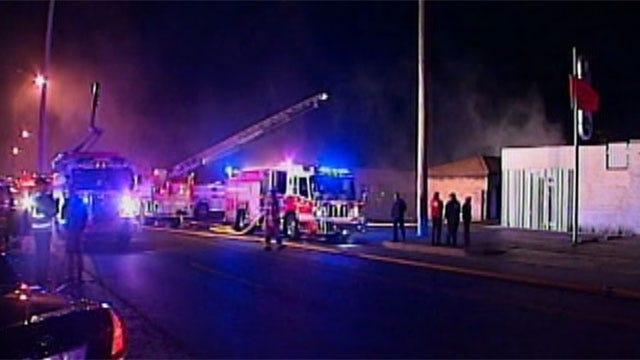 Candle Starts Fire At Northwest Oklahoma City Storage Facility