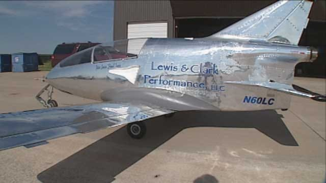 Oklahoma Pilot Takes Flight With 'World's Smallest Jet'