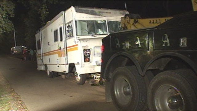 Police: Mobile Meth Lab Explosion At Arcadia Lake Could Have Been Worse
