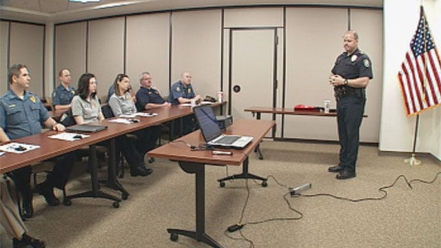 Midwest City Police Train For Encounters With Mentally Ill