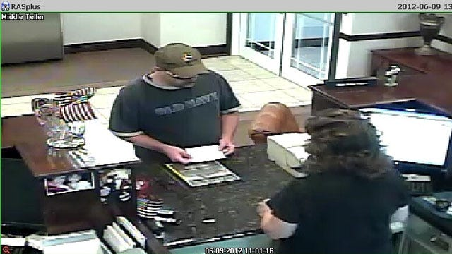 FBI, Garvin County Authorities Investigating Bank Robbery In Maysville