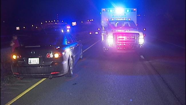 Pedestrian Struck, Killed On Tulsa County Highway Early Friday
