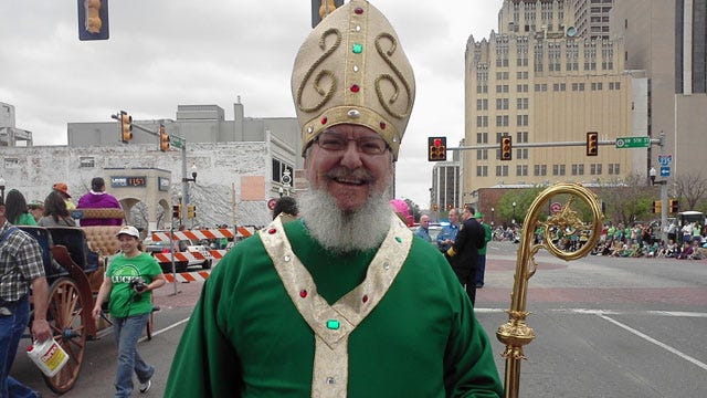 St. Patrick's Day Parade Kicks Off In Downtown OKC Saturday Afternoon
