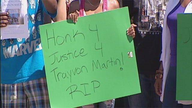 Rally For Trayvon Martin Held In OKC