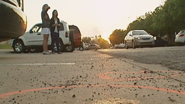 Witness Recalls Hit-And-Run Crash On UCO Campus