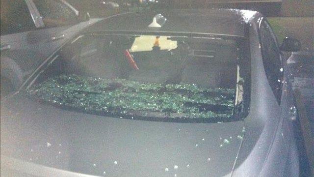 Hail-Packing Storm Causes Injuries, Damage In OKC Metro